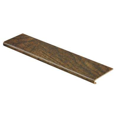 Tanned Hickory 47 in. Length x 12-1/8 in. Deep x 1-11/16 in. Height Laminate to Cover Stairs 1 in. Thick