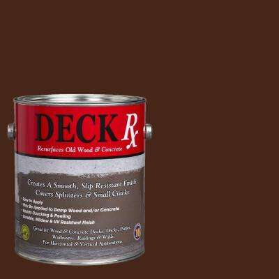 Deck Rx 1 gal. Chocolate Wood and Concrete Exterior Resurfacer