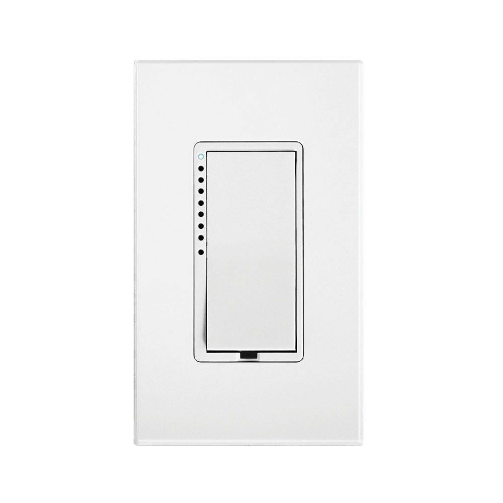 insteon 600 watt 2 wire dimmer switch 2474dwh the home depot