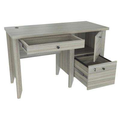 Smoke Oak Writing Desk