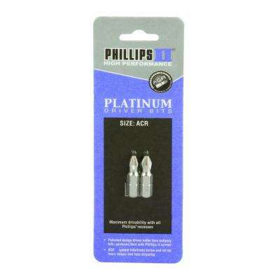 #1 ACR Philips Driver Bit 1 in. Long (2-Pack)