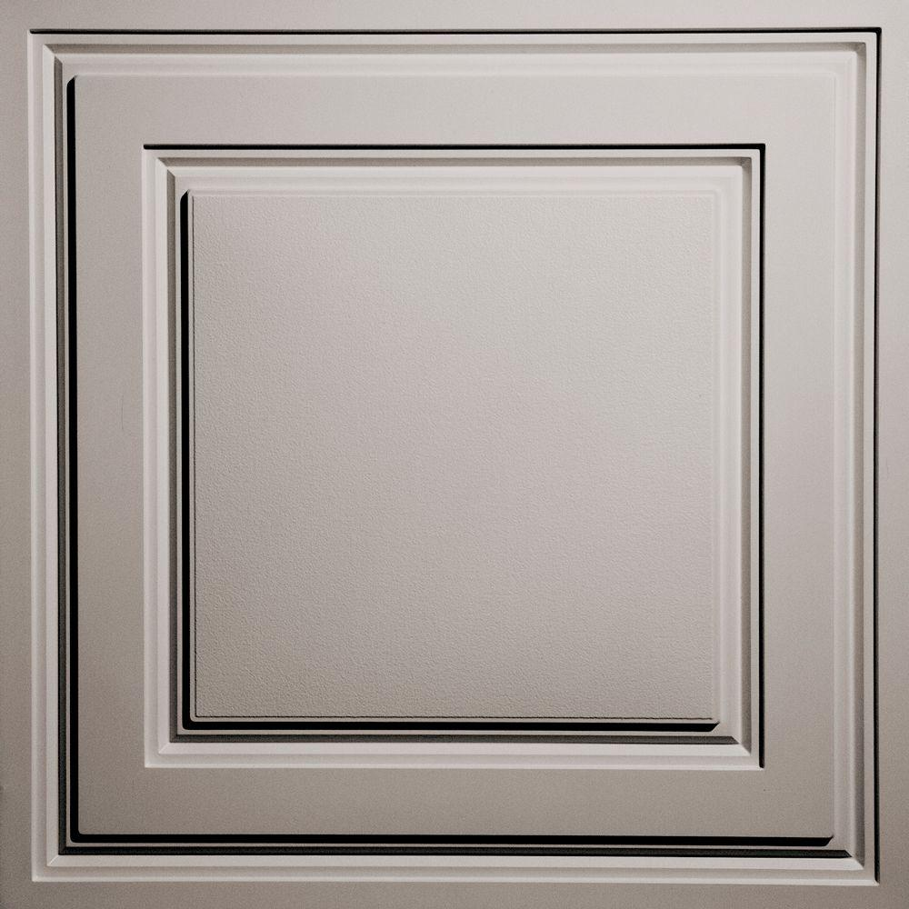 Oxford Latte 2 ft. x 2 ft. Lay-in Ceiling Panel (Case