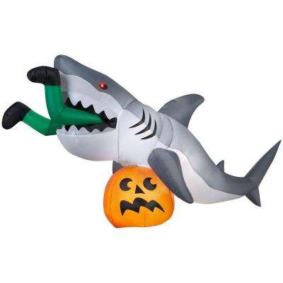 9 ft. Animated Inflatable Shark