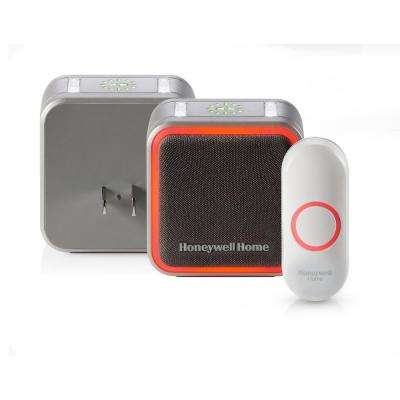 Series 5 Wireless Doorbell with Halo Light and Push Button