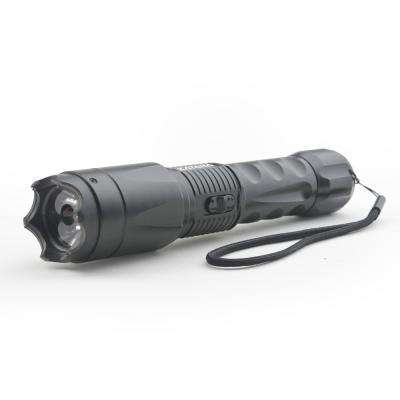 Concealed Stun Gun with Glass Breaker and 400 Lumen Blinding Flashlight - High Voltage Edition