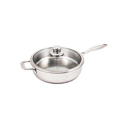 4.2 Qt. Premium Clad Saute Pan with Lid
