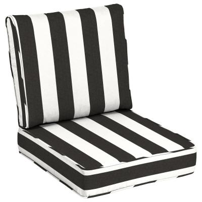 24 x 24 Sunbrella Cabana Classic Outdoor Lounge Chair Cushion