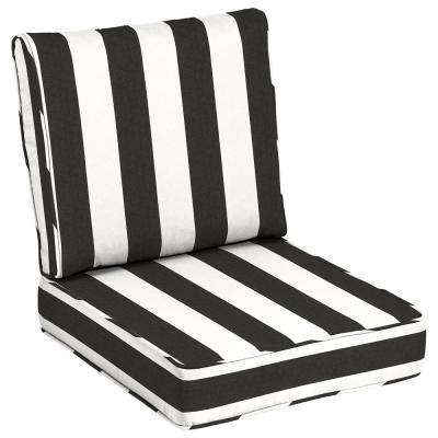 Sunbrella Cabana Classic Outdoor Lounge Chair Cushion