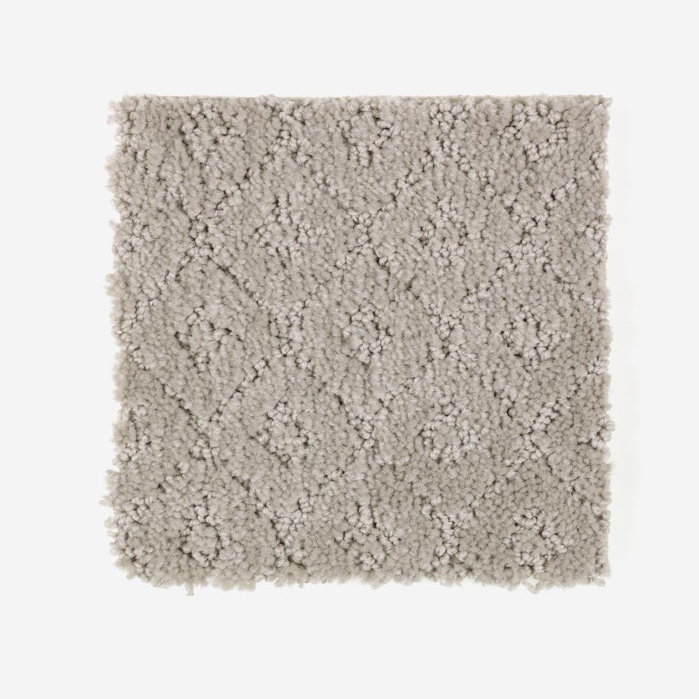 Carpet Sample - Sawyer - Color Deserted Castle Pattern 8 in. x 8 in.