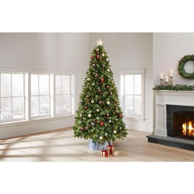 9 ft  Westwood White Fir LED Pre-Lit Tree with 800 Warm White Lights