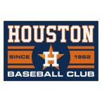 MLB Houston Astros Blue 2 ft. x 3 ft. Area Rug