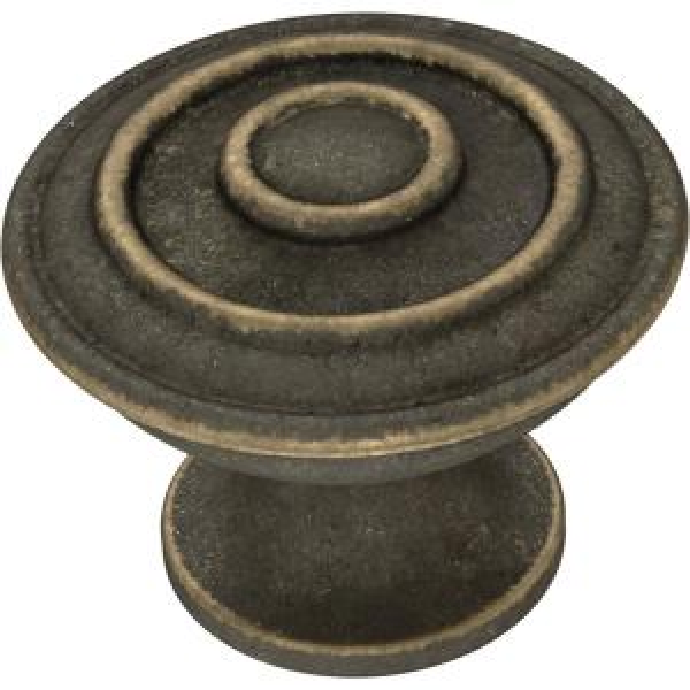 Essentials Hayes 1-1/4 in. (32 mm) Warm Chestnut Cabinet Knob