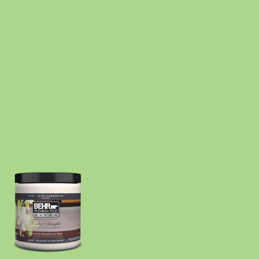 BEHR Premium Plus Ultra 8 oz. #430B-4 Peas In A Pod Interior/Exterior Paint Sample