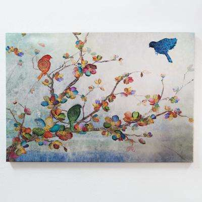 """24 in. x 36 in. """"Songs of the Wind"""" Printed Canvas Wall Art"""