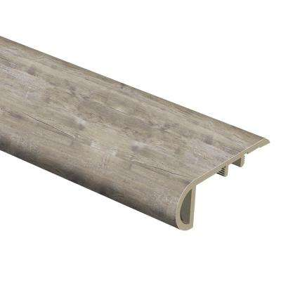 Lighthouse Oak 1 in. Thick x 2-1/2 in. Wide x 94 in. Length Vinyl Stair Nose Molding