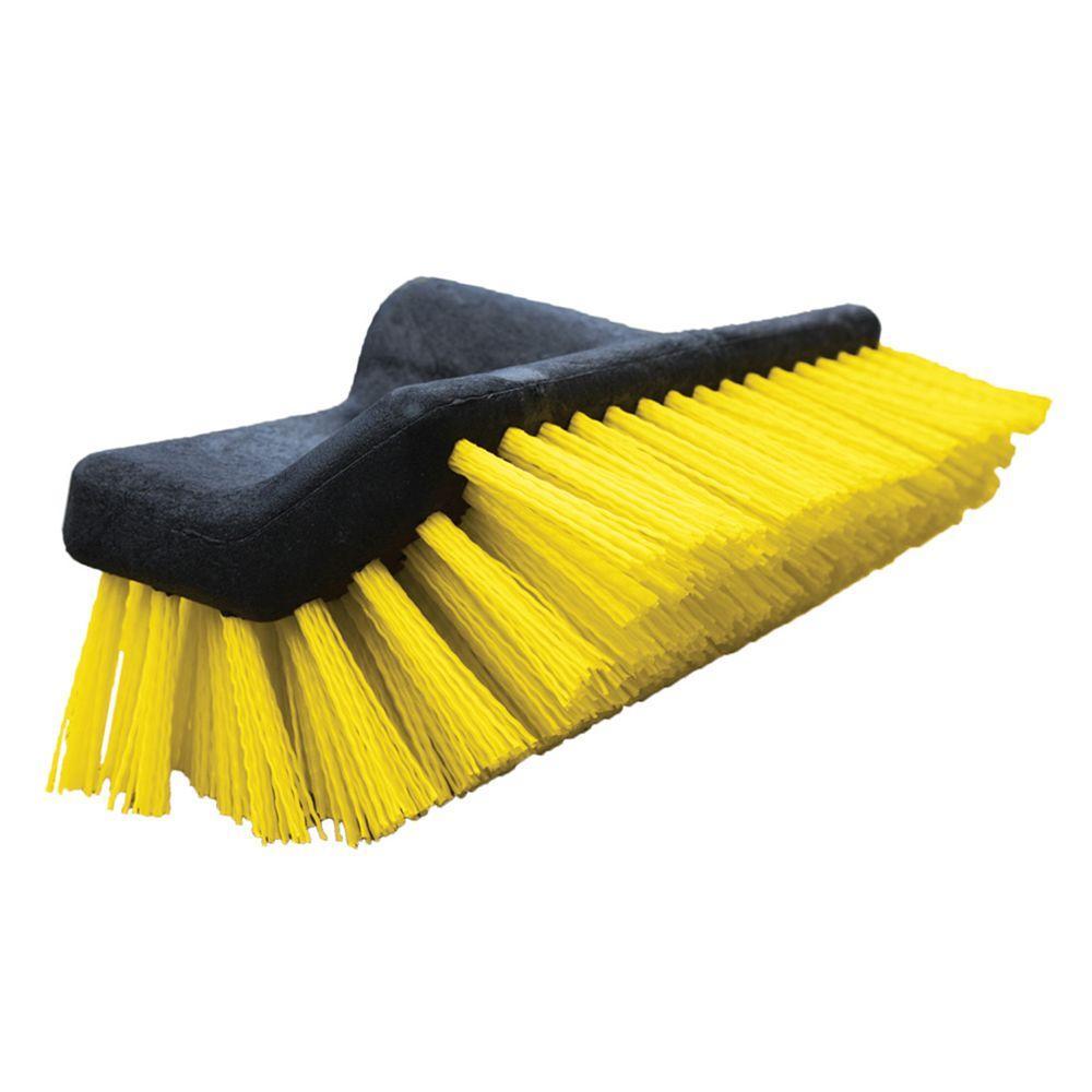 10 in. Waterflow Bi-Level Deck Scrub Brush