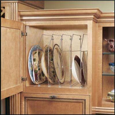 18 in. H x 0.75 in. W x 20 in. D Single Chrome Bakeware and Tray Divider