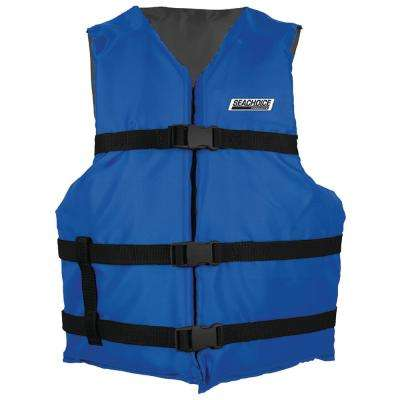 Size: Adult XL General Purpose Life Vest for 90 lbs. and Up Weight