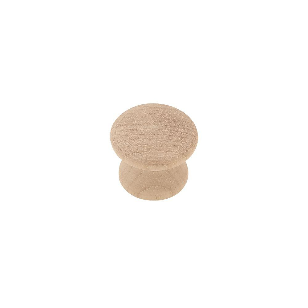 Liberty Classic 1 in. (26mm) Birch Wood Round Cabinet Knob