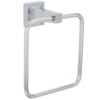 Adelyn Towel Ring in Chrome