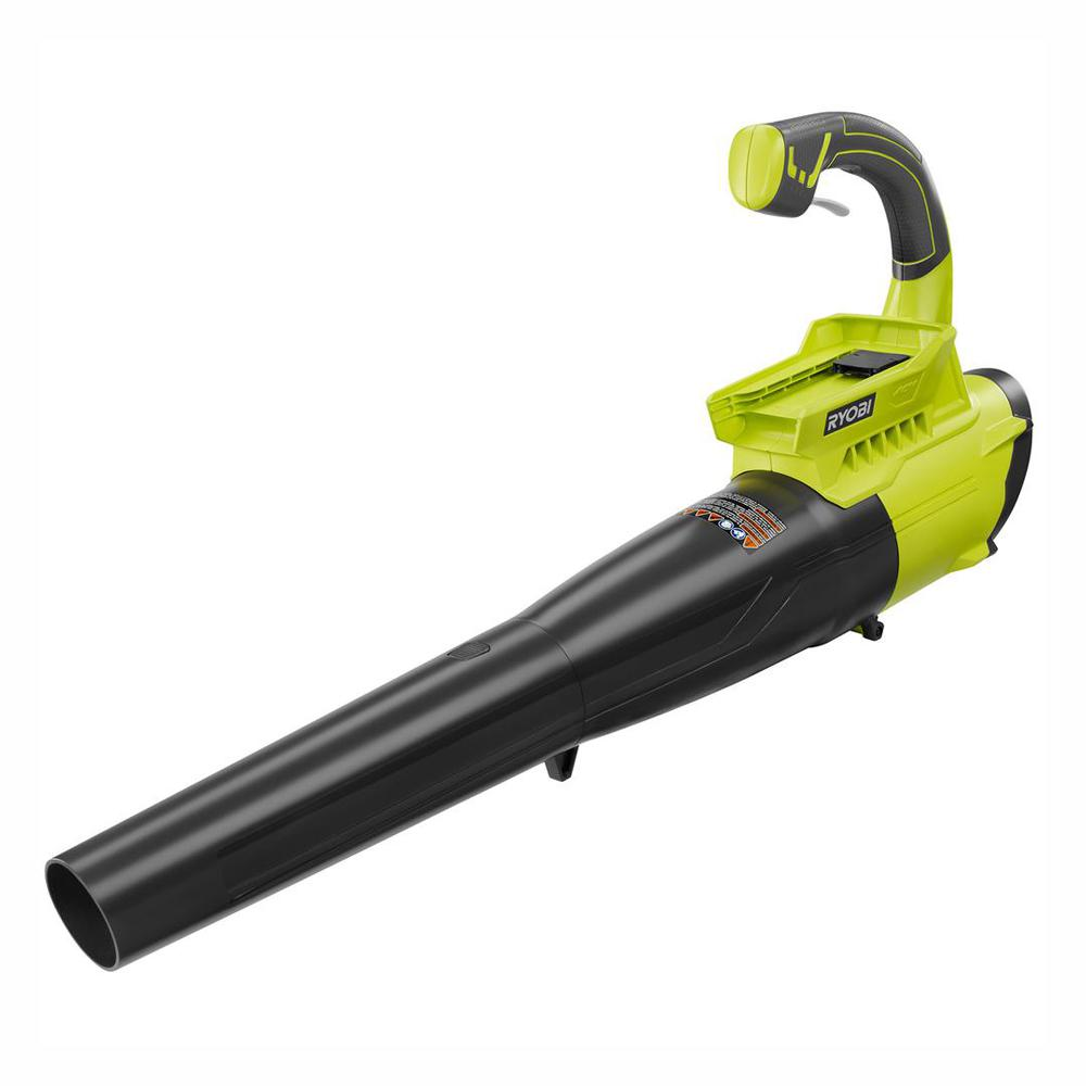 RYOBI Reconditioned 155 MPH 300 CFM 40-Volt Lithium-Ion Cordless Battery Jet Fan Leaf Blower (Tool Only)