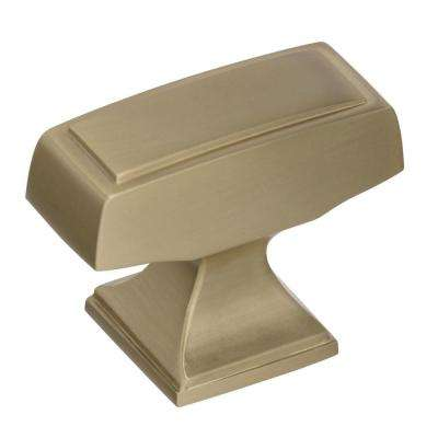 Mulholland 1-1/2 in (38 mm) Length Golden Champagne Cabinet Knob