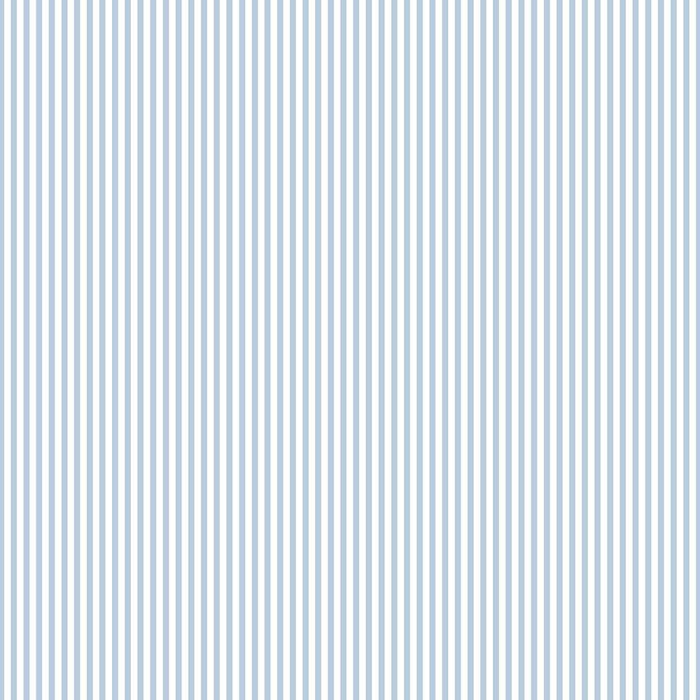 Norwall Light Blue And White 3 Mm Stripe Wallpaper Fk34410