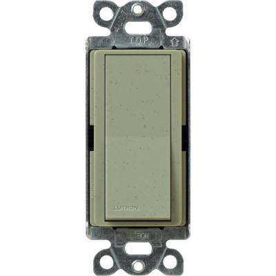 Claro 15 Amp 3-Way Rocker Switch, Greenbriar