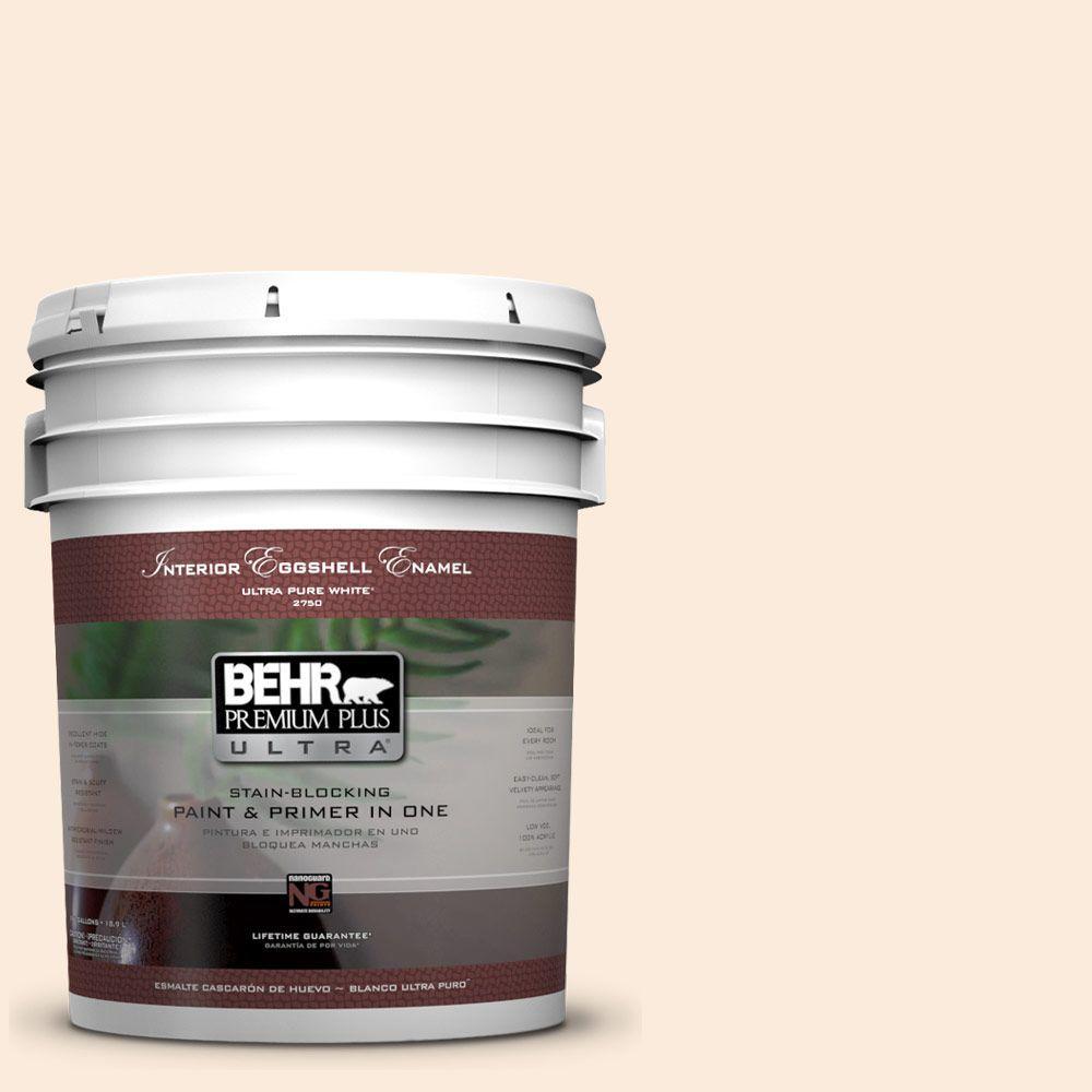 BEHR Premium Plus Ultra 5-gal. #260E-1 Lilting Laughter Eggshell Enamel Interior Paint