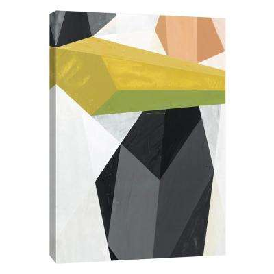 12 in. x 10 in. ''Glass Vase 4'' Printed Canvas Wall Art