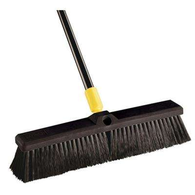 Bulldozer 18 in. Smooth Surface Pushbroom (Case of 4)