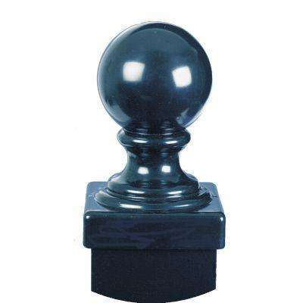 Black Fence Post Ball Cap Accessory