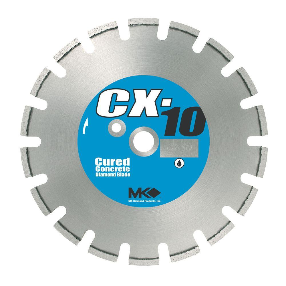 MK Diamond CX-10 12 in. Wet Cutting Diamond Saw Blade for Cured Concrete