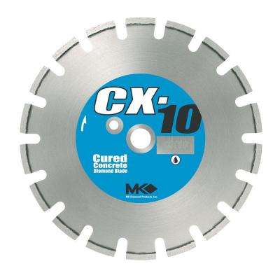 CX-10 12 in. Wet Cutting Diamond Saw Blade for Cured Concrete