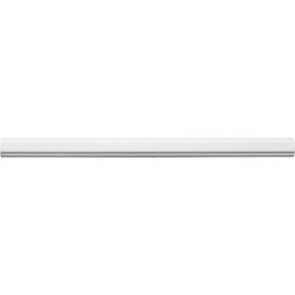 Allegro White Pencil 3 4 In X 12 Ceramic Molding Tile