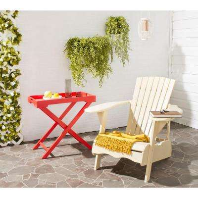 Mopani All-Weather Patio Lounge Chair in Off White 1-Piece