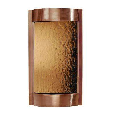 Contempo Solare Fountain in Dark Copper and Bronze Mirror