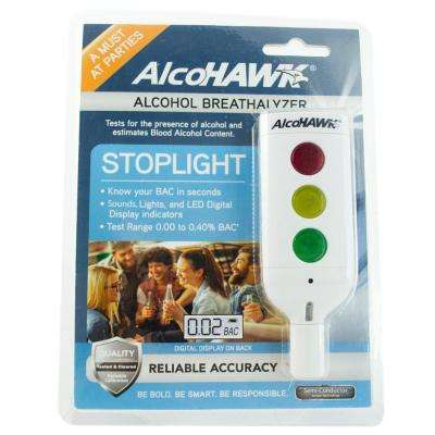 Stoplight Breath Alcohol Tester