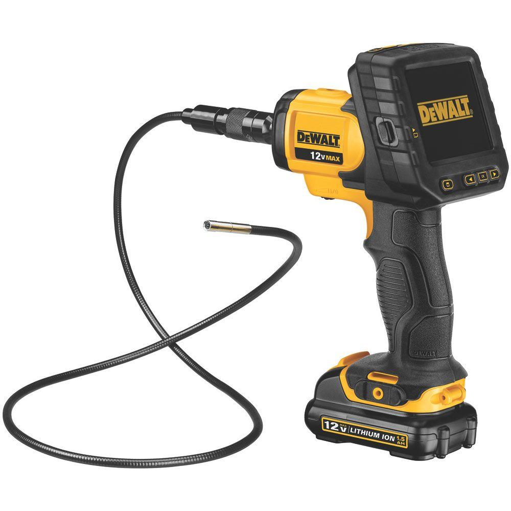 DEWALT 12-Volt MAX 5.8 mm Inspection Camera with Wireless Screen Kit