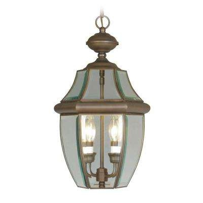 Providence 2-Light Imperial Bronze Outdoor Incandescent Pendant