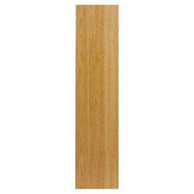 0.75x48x11.25 in. Universal End Panel in Natural Hickory