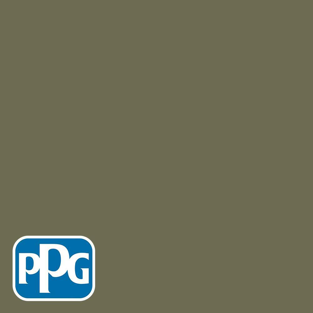 the latest e6622 ee792  HDGG26 Olive Green Satin Interior Paint with Primer