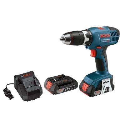 Factory Reconditioned Cordless 1/2 in. Compact Drill/Driver with LED Light Kit