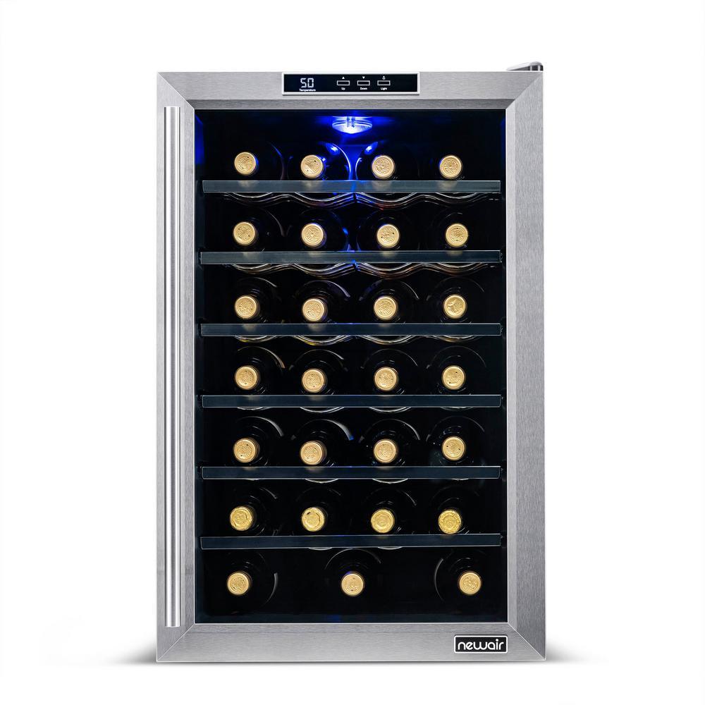 NewAir 28-Bottle Freestanding Wine Cooler