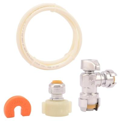 Push-to-Connect Toilet Installation Kit
