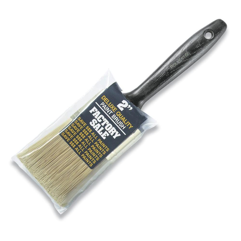 2 In Factory Synthetic Brush