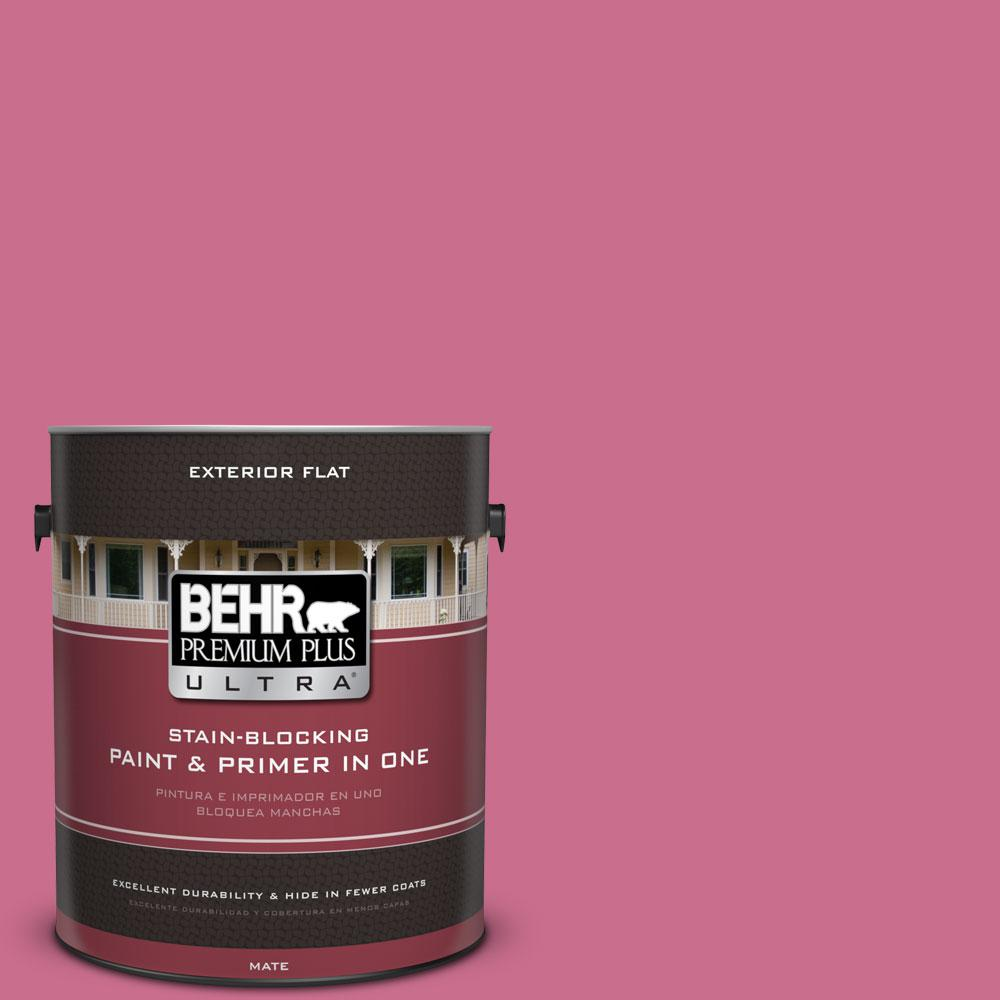 1-gal. #110B-5 Silk Ribbon Flat Exterior Paint