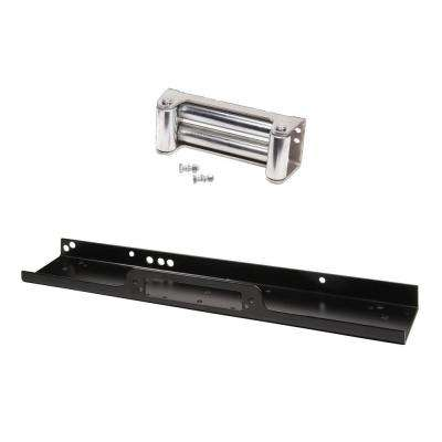 1/4 in. Steel Mounting Plate and 4-Way Roller Fairlead Kit for LP8500 and LP10000 Winch