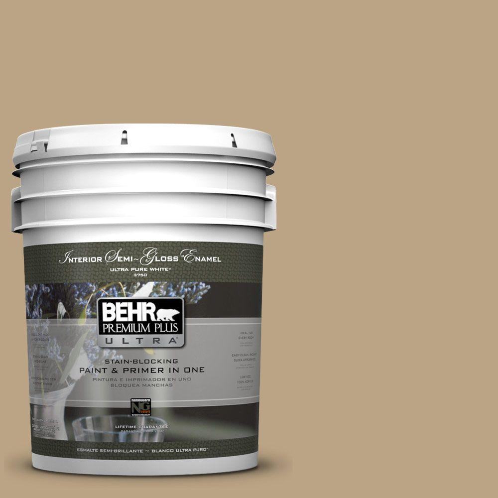 Home Decorators Collection 5-gal. #HDC-CT-07 Country Cork Semi-Gloss Enamel