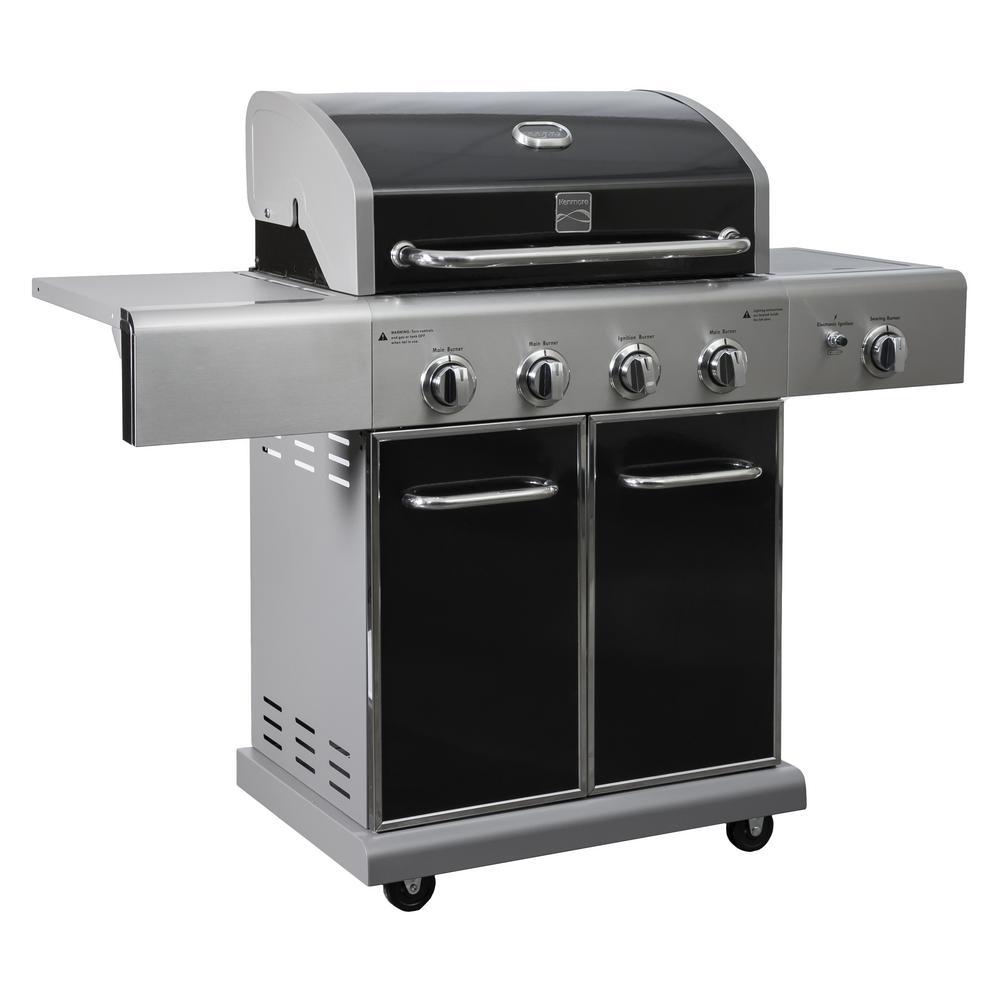 Kenmore Elite 3-Burner Gas Grill w/ Warming Rack